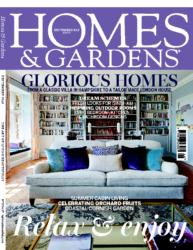 Homes & Gardens Sep 2015 Cover